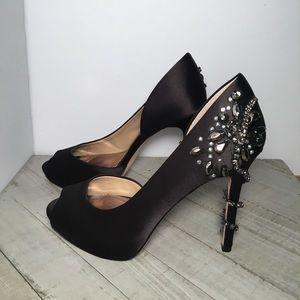 Antonio Melani Size 6 black Heels